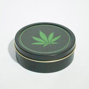 Caja Redonda Metal Decorada