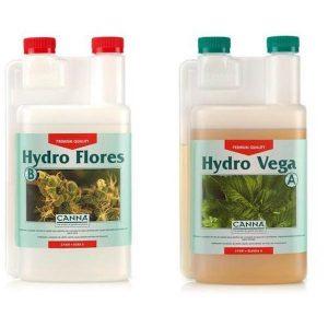Hydro Vega  A+B 1L Agua Dura  Canna