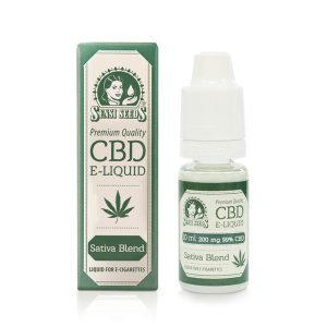CBD E-Liquid Sensi Seeds 200 mg. 10 ml.