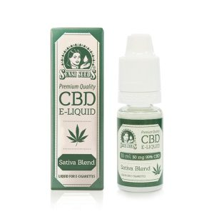 CBD E-Liquid Sensi Seeds 50 mg. 10ml.