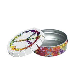 Caja Click Clack 5.5 cm. Peace colores BOX-175