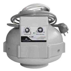 Extractor PK Control Temperatura 125 mm – 400 m3