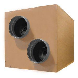 Caja AIRFAN – SOFT-Box HDF 2.500 m3/h – (2 x 254 in – 254 out)